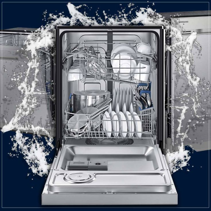 """Samsung 24"""" Stainless Steel Built-In Dishwasher 