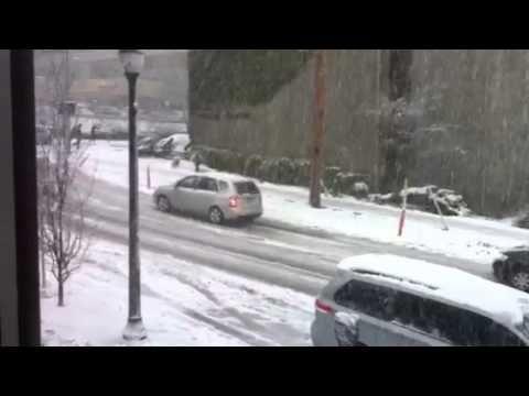 The start of the Winter Wonderland in B.C. - YouTube