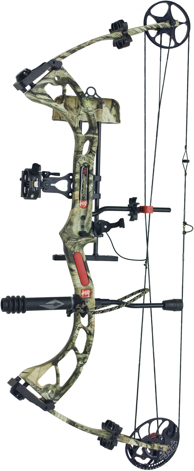 2012 PSE Stinger Compound Bow. I got mine in black.