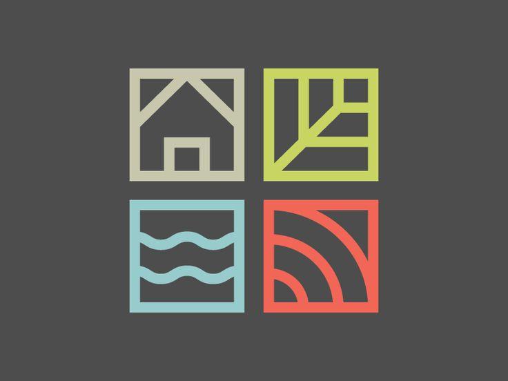 Logo design for Bartram's Garden in Philadelphia