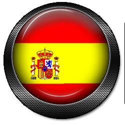 Spanien flagge Logo Button-iswpanya bayrakli logo button