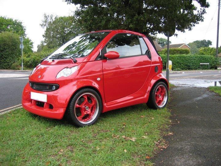 red on red smart car 450 smart car enthusiam 1173 club. Black Bedroom Furniture Sets. Home Design Ideas