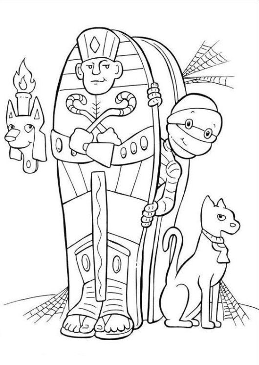 166 best Halloween Coloring Pages images on Pinterest Coloring