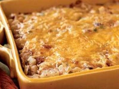 Cracker Barrel Old Country Store Hashbrown Casserole... Cracker Barrel Hashbrown Casserole is a favorite recipe of many people that go to the Cracker Barrel, they often go just for the Cracker Barrel hasbrown casserole. The Cracker Barrel hashbrown casserole is rich with cheese, a touch of sour cream, onions,