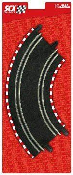 Compact Standard Curve Pack (4) by SCX Slot Cars. $16.99. Four pieces of Compact standard curve track. Formerly #31060.