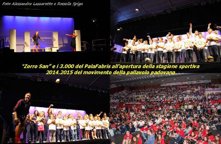 Presentazione stagione 2014-2015 - Una sintesi delle mille emozioni della festa di presentazione 2014 al PalaFabris.
