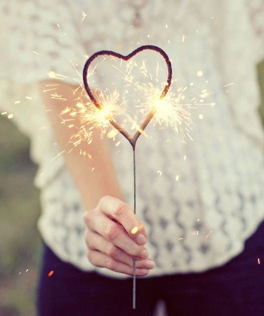 Heart Shaped Sparklers #WeddingFavorIdeas