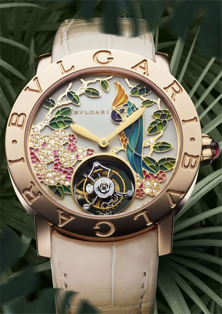 Bvlgari Il Giardino Tropicale Pink Gold on Watch Agora