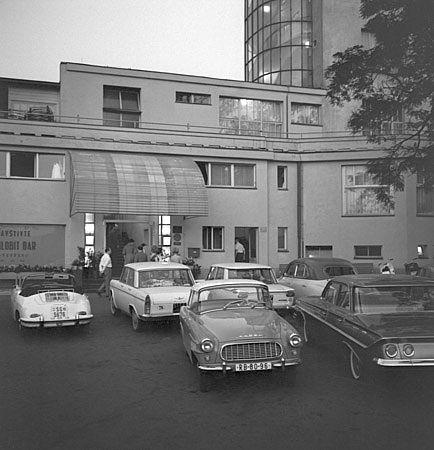 Cars on Barrandov.Prague