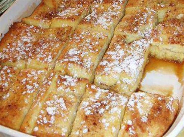 Mυρωδάτο πρωϊνό με ψωμί του τόστ στο φούρνο! - Filenades.gr