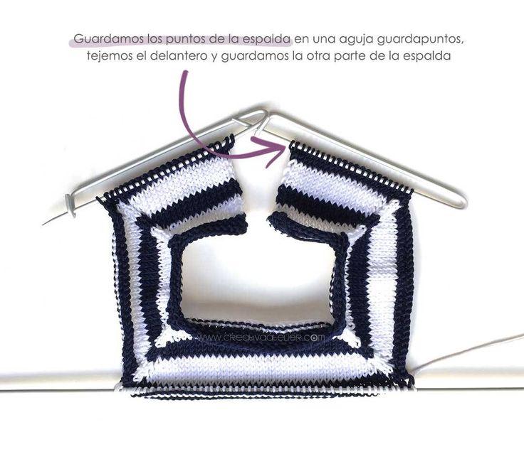 Marinera kikker punt van de Baby DIY - Handleiding en patroon