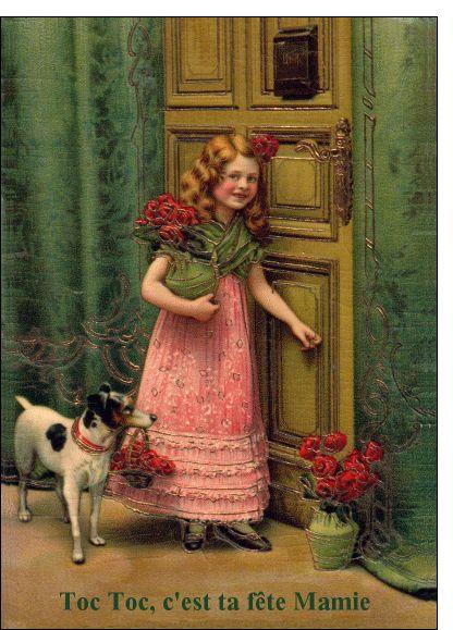 #Carte Toc Toc c'est ta #fête #mamie pour envoyer par La Poste, sur Merci-Facteur ! #fêtedesgrandsmères