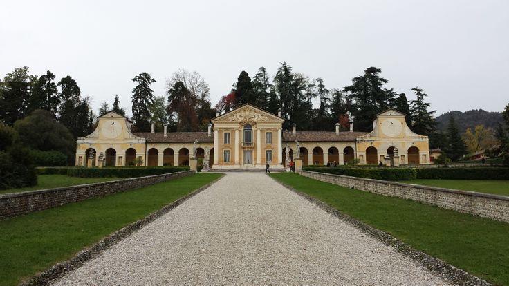 Villa Barbaro by Andrea Palladio UNESCO World Heritage Maser (TV) Italy