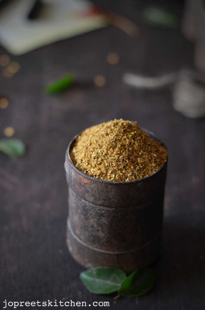 how to make pulao masala powder