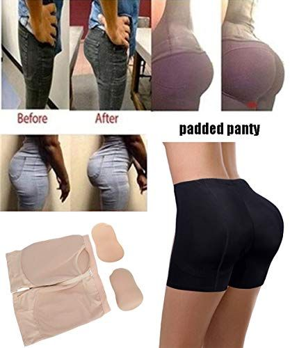 6fa08e036e1d FLORATA Women Padded Panties Hip Enhancer Butt Lifter Body Shaper Underwear  Shapewear,#Panties, #Hip, #Enhancer, #FLORATA