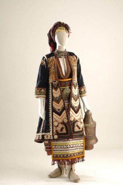 Μακρά Γέφυρα,Θράκη-Bridal and festival costume from Makra Yefyra,Thrace