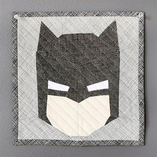 Crafty Geeks #epp Paper Pieced Batman {an Art School Dropout's life}