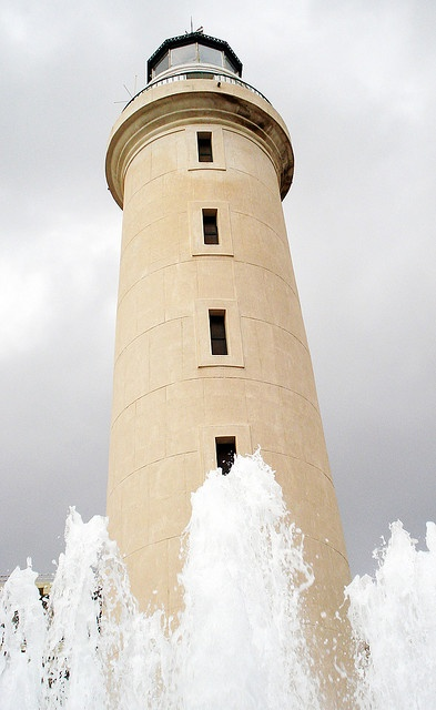 Lighthouse and Fountain - Alexandroupolis, Greece / by dimsis, via Flickr