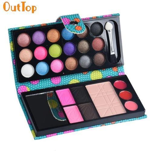 26 Color Water-Resistant Fashion Eye Shadow Makeup Palette Box