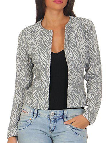 Vero Moda Damen Strickjacke Cardigan Blazer Leichte Jacke (38  (Herstellergröße  M), c58906929d