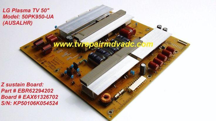 LG50PK950-UA.Z sustain Board: EBR62294202, EAX61326702 / Important News #LG