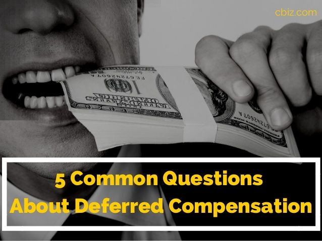 Corporate deferred compensation plans for highly compensated employees are a planning tool that companies and key executives should explore.