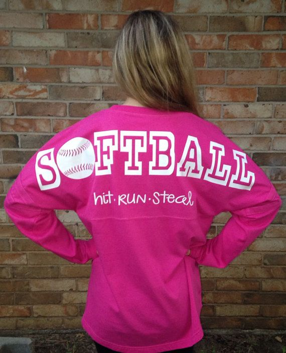 softball jersey customized with your color choice text reads softball with hit - Softball Jersey Design Ideas