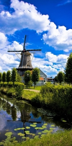 Noord-Holland, The Netherlands. I want to go see this place one day. Please check out my website thanks. www.photopix.co.nz
