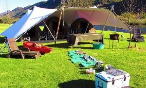 Groupon - Citrusdal: Two or Three-Night Self-Catering Stay for Up to Six with Canoe Rental at Wolfkop Camping Villages in Citrusdal. Groupon deal price: R 1,049