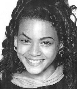 Beyonce childhood photo http://celebrity-childhood-photos.tumblr.com/