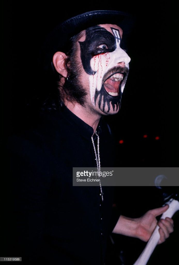 Mercyful Fate during Mercyful Fate in Concert at Wetlands - 1996 at Wetlands in New York City, New York, United States.