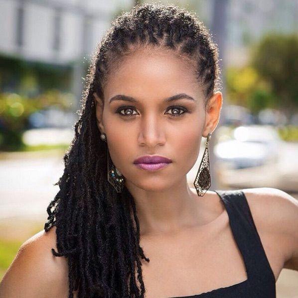 Sanneta Myrie is First Miss World Contestant to Wear Dreadlocks, Finishes in Top 5 Sanneta Myrie is first miss world contestant to wear dreadlocks.