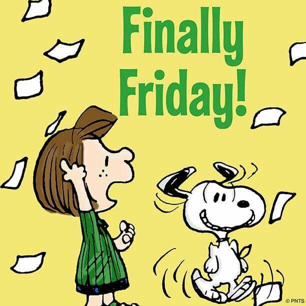 Yay !!!! I just luvvvvvv Fridays!!!