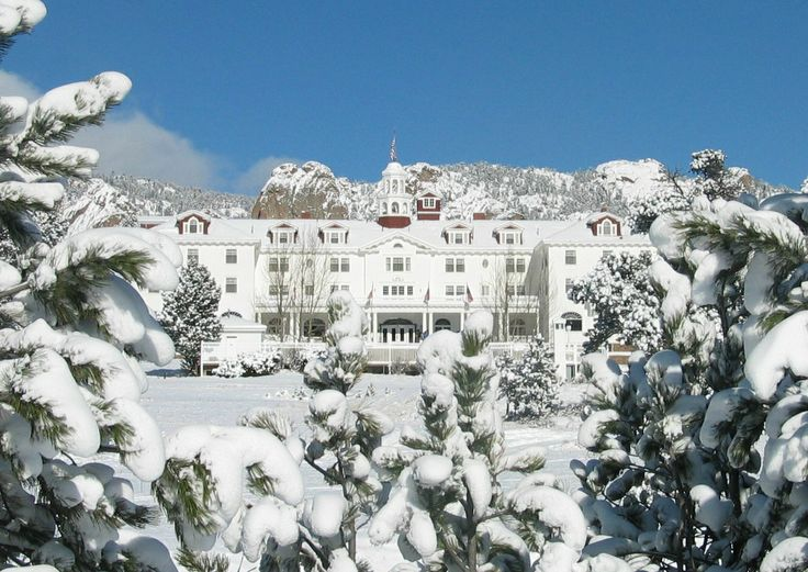 "The Stanley Hotel - Estes Park, CO  ~Inspiration for ""The Shining"""