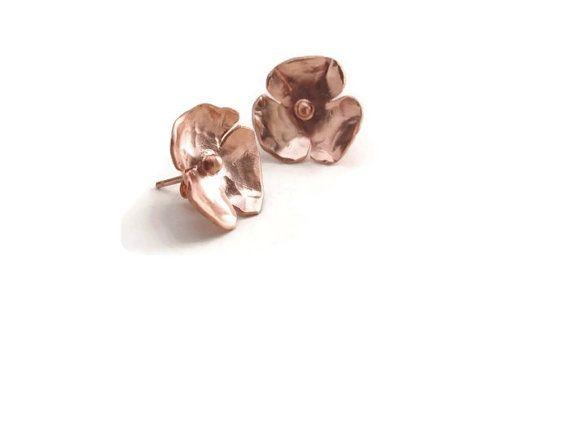 https://www.etsy.com/nl/listing/172889245/rose-gold-earrings-stud-silver-rose