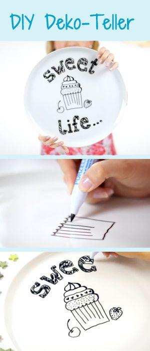 Zum Verschenken oder doch Selberbehalten? http://www.gofeminin.de/schwangerschaft-video/porzellan-bemalen-n231398.html  #diy