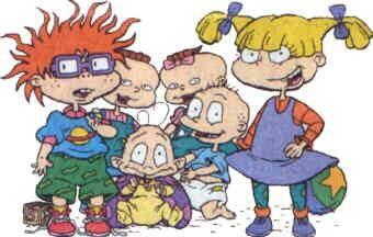 Rugrats 90s tv show