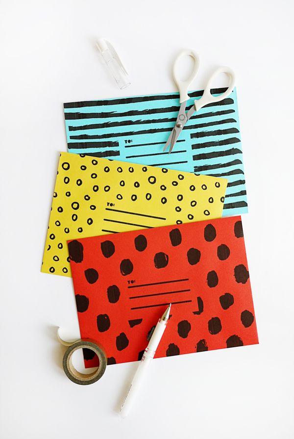 Printable Super Cute Envelopes   Oh Happy Day!   Bloglovin'