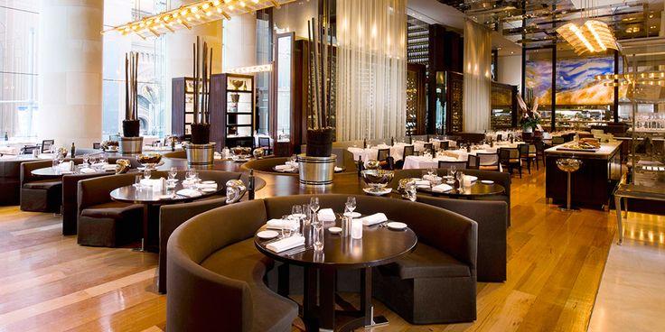 Glass Brasserie interior