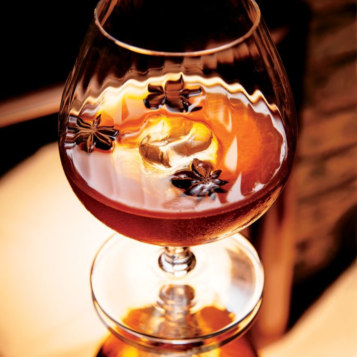 ... as much about the aromatic absinthe rinse as it is the Cognac and rye