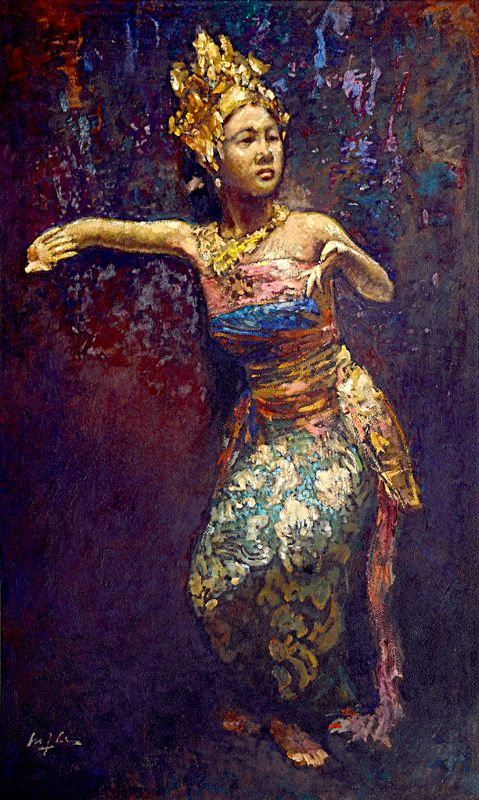 Lee Man Fong - Dancer (sold for $128,848)