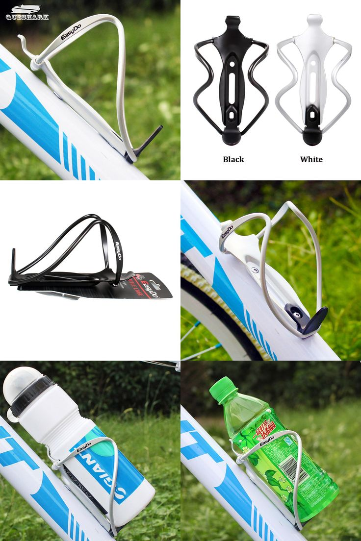 [Visit to Buy] Bicycle/Bike Ultralight Aluminum Water Bottle Side Cage Cycling Water Bottle Holder #Advertisement