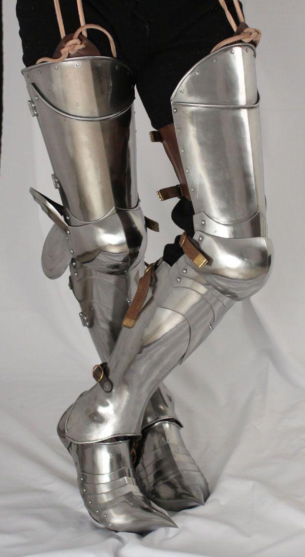 A Pair off ARMOUR PLATE LEGS.