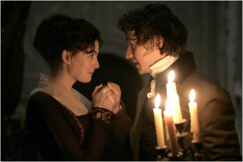 """Still of Anne Hathaway and James McAvoy in """"Becoming Jane""""    This movie makes me cry every time <3"""