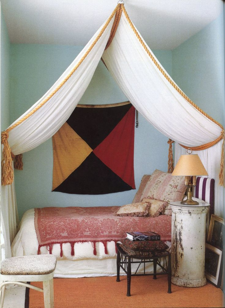 512 best images about canopy beds draped beds on for Canopy over bed
