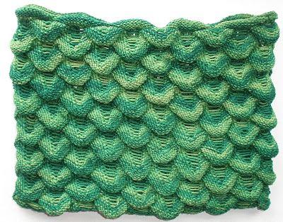 Teufelszwirn stitch pattern from beerentoene