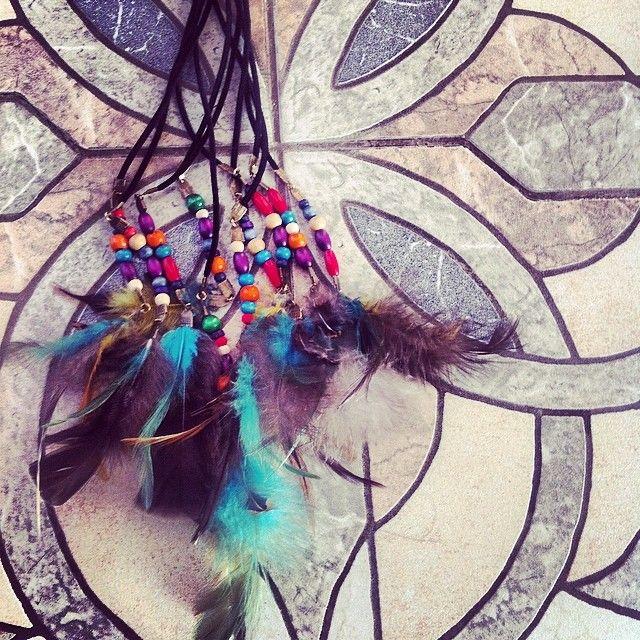 Wild Spirit belts feathers