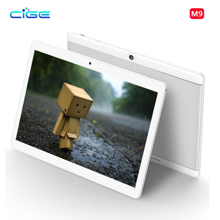 CIGE 10.1 inch Tablet Pc 4G Lte Octa Core Phone Call card 1920x1200 Android 6.0 WiFi GPS Tablets pcs Tablets Ultra Slim Dual SIM