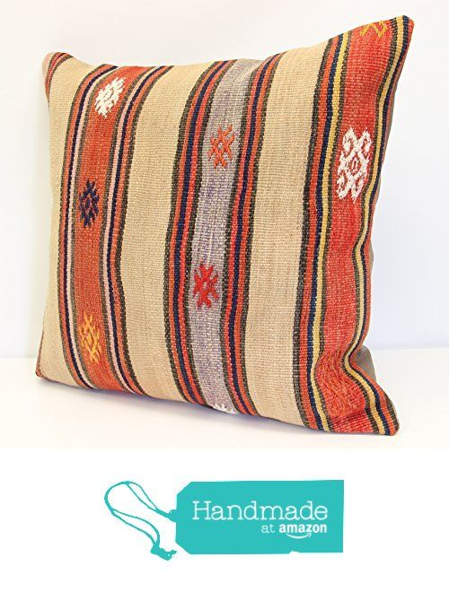 Throw Pillow cover 20x20 inch (50x50 cm) Living Room Kilim pillow cover Home Decor Boho decor Pillow cover Home decor Kilim cushion cover from Kilimwarehouse https://www.amazon.com/dp/B073S9WF11/ref=hnd_sw_r_pi_dp_ETayzb9N1Z2F0 #handmadeatamazon
