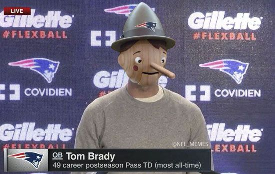 Here are the funniest Tom Brady DeflateGate memes from Instagram and Twitter.